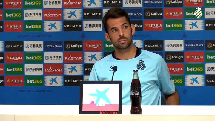 La rueda de prensa de Víctor Sánchez (Espanyol)