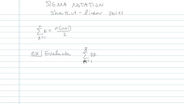 Series and Summation Notation - Problem 5