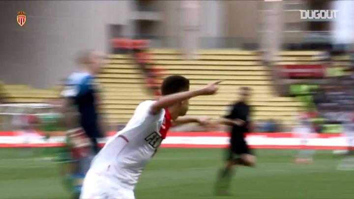 Ferreira Carrasco's first goal at Monaco