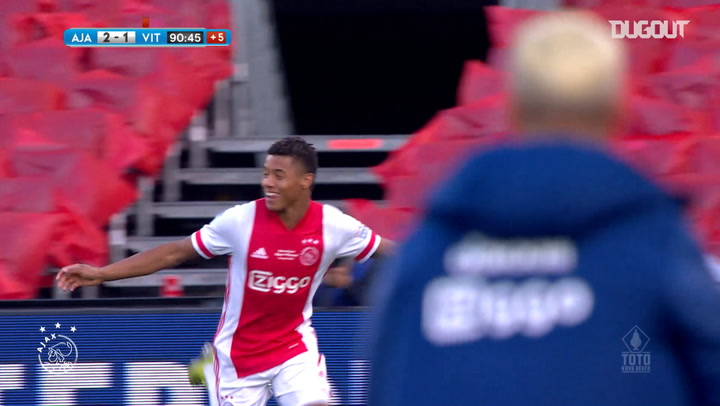 David Neres' injury-time cup winner vs Vitesse