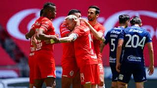 Toluca sufre para vencer al Atlético San Luis y saca sus primeros tres puntos del Apertura 2020 de la Liga MX