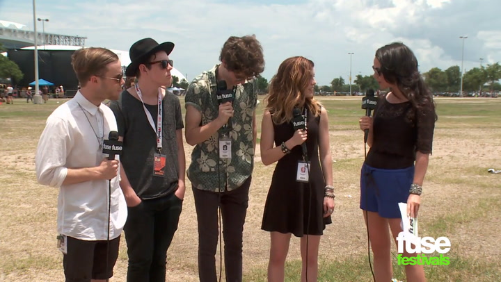 Interviews: Echosmith at Warped Tour 2014