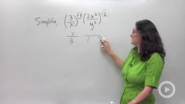 Simplifying Expressions with Exponents - Problem 2