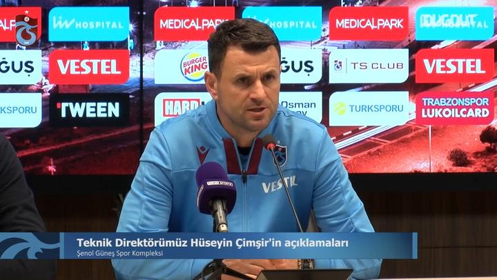 Hüseyin Çimşir'in Fenerbahçe Galibiyeti Sonrası Açıklamaları