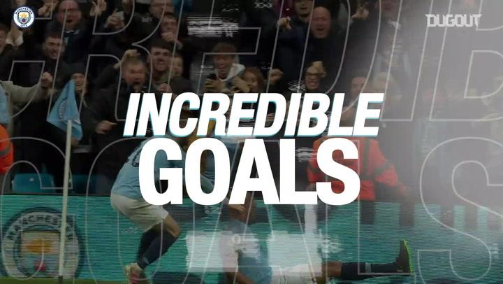 Incredible Goals: Vincent Kompany Vs Leicester City