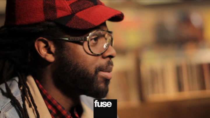 Adrian Younge's Vinyl Collection