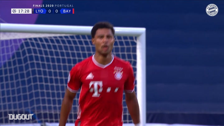 Serge Gnabry's wonderful Champions League semi-final goal vs Lyon