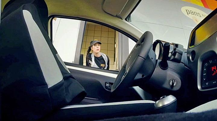 Alle begynner å lure når bilen ikke har sjåfør