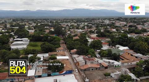 Ruta 504 - La Paz un lugar de encantos a la vista