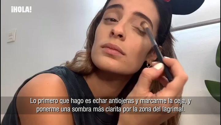 Los trucos de Susana Molina para un delineado rápido y perfecto