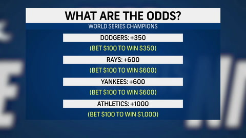 What are the odds that the Yankees win the World Series?