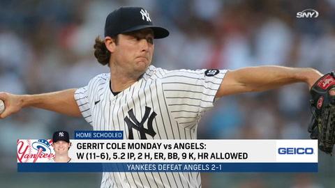 Gerrit Cole's successful return, impressive bullpen, disappointing bats in Yankees 2-1 win