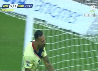 Minuto 70: ¡GOOL! Víctor Aguilera cambia por gol la ejecución de penal (6-1)