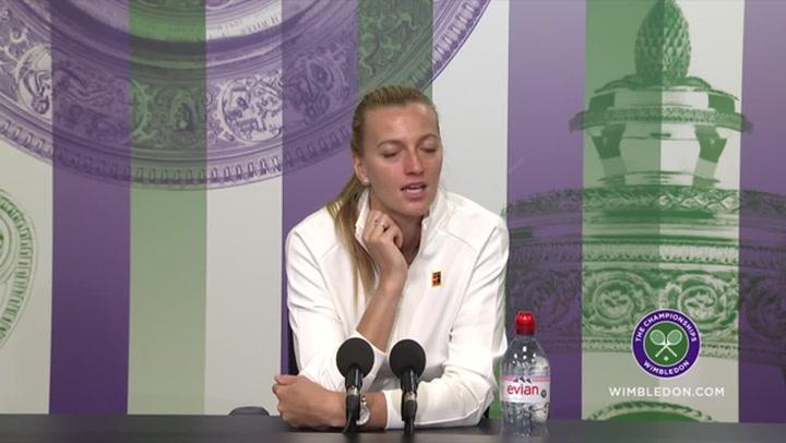 温布尔登: Two-time champion Petra Kvitova looks ahead to return of the championships