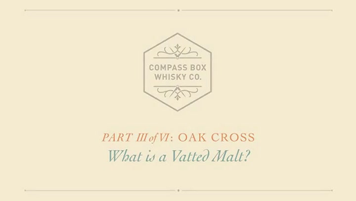 Preview image of The Compass Box Oak Cross Scotch Whisky, 750ml video