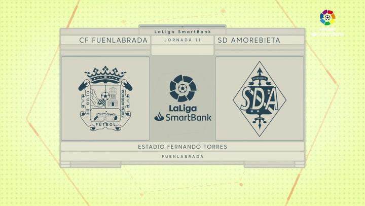 LaLiga Smartbank (Jornada 11): Fuenlabrada 0-0 Amorebieta