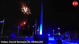 Así fue la inauguración del monumento al Bicentenario en la capital