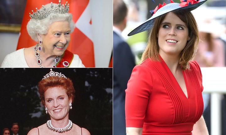 ¿De su abuela o de su madre? Eugenia de York busca su tiara