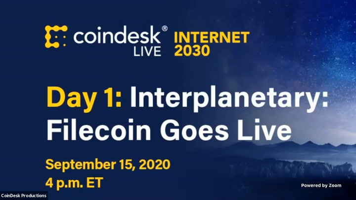 Interplanetary Day 1 Filecoin Goes Live