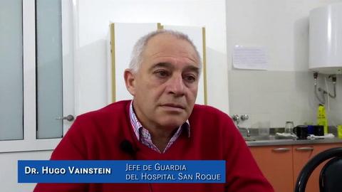 Angina bacterial: Seis casos en el país, es una cifra ínfima, según el jefe de Guardia del San Roque