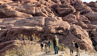 Red Rock Canyon closed but accessible during partial government shutdown