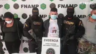 Capturan a tres supuestos integrantes de la Mara Salvatrucha en Tegucigalpa