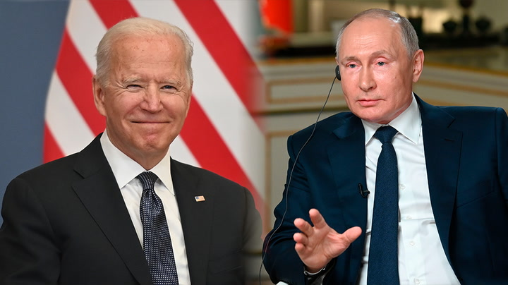 Watch live as Joe Biden and Vladimir Putin meet in Geneva