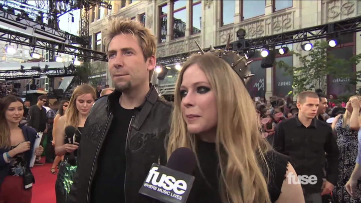 Shows: Much Music Video Award 2013:  Avril and Chad Interview