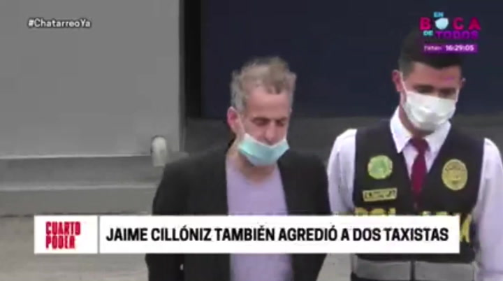 Jaime Cillóniz agredió a dos taxistas y no les quiso pagar la carrera | VIDEO