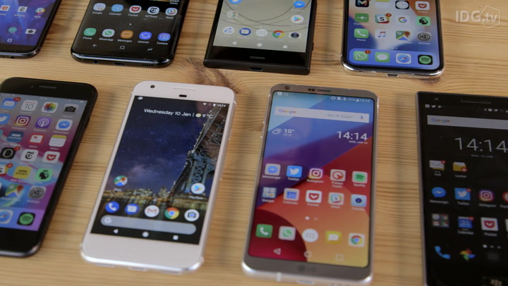 Smartphone buying guide 2018