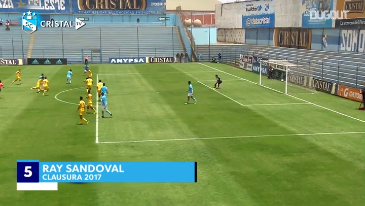 Sporting Cristal's Top Five Goals Vs La Academia Cantolao
