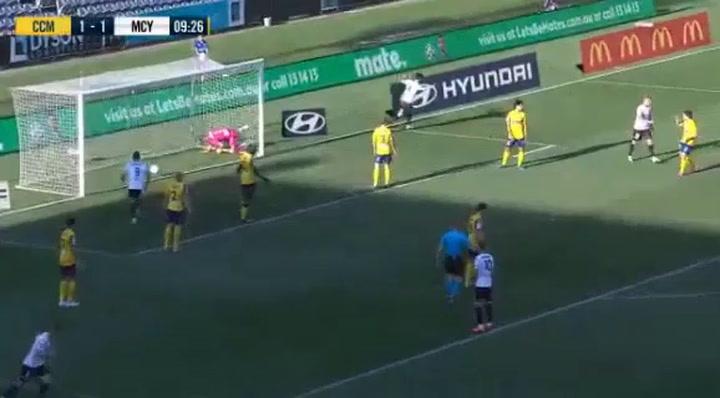 El gol de Markel Susaeta ante el Central Coast Mariners