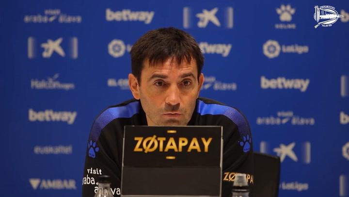 Asier Garitano no quiere darle importancia a la posibilidad de que Lucas Pérez se marche al Barça