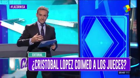 Editorial de Majul: ¿Cristóbal López coimeó a la Justicia?