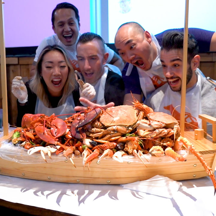 Massive $900 Seafood Boat Will Ferry You To Shellfish Paradise