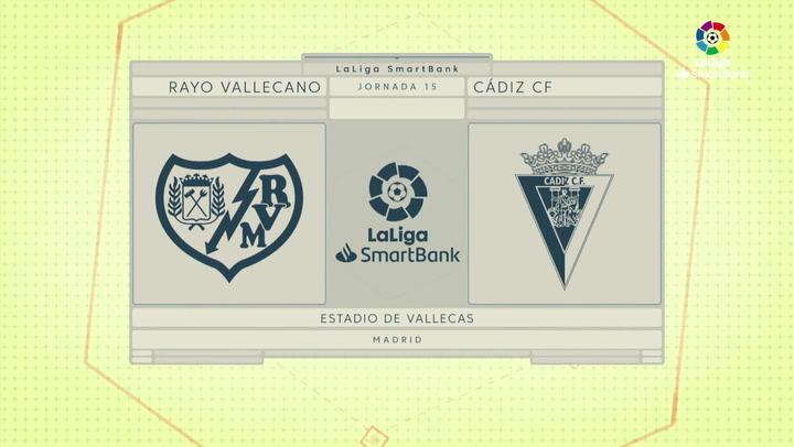 Resumen 90' Rayo Vallecano - Cádiz CF J15
