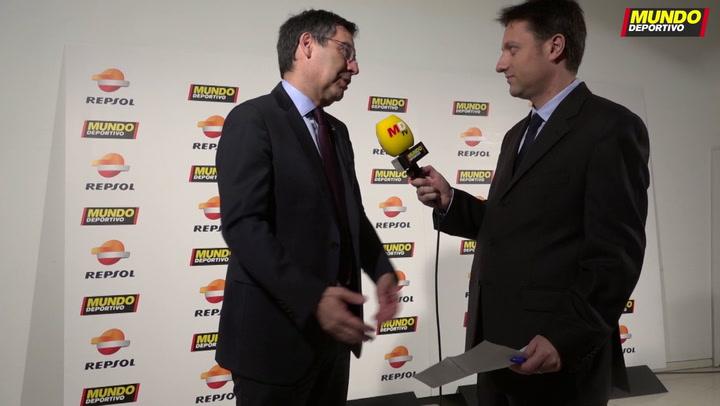 Bartomeu analiza la situación del Barça en la Gran Gala de MD