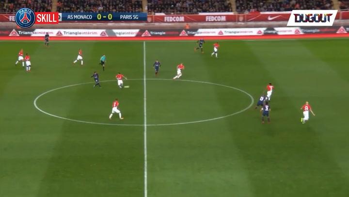 Neymar's great skill vs Monaco