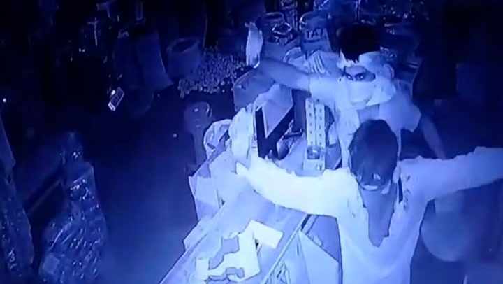 Thieves break out in dance mid-robbery before fleeing with over £1k worth of of goods