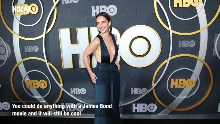 Emilia Clarke would like to be James Bond in upcoming film