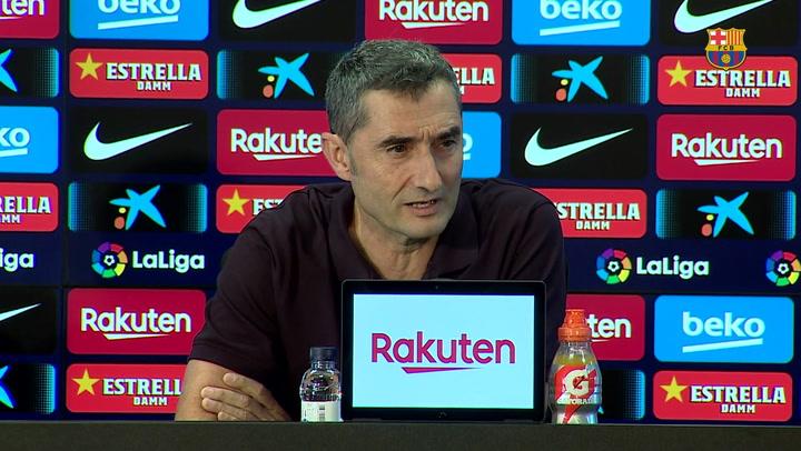 Las frases más destacadas de la rueda de prensa de Ernesto Valverde