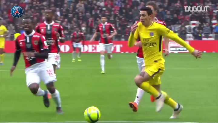 Angel Di Maria's incredible goal vs Nice