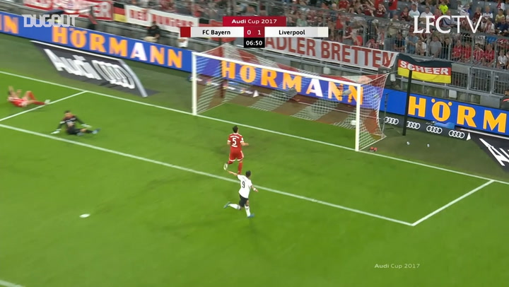 Sadio Mané opens the scoring vs Bayern