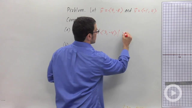 Addition and Scalar Multiplication of Vectors - Problem 3