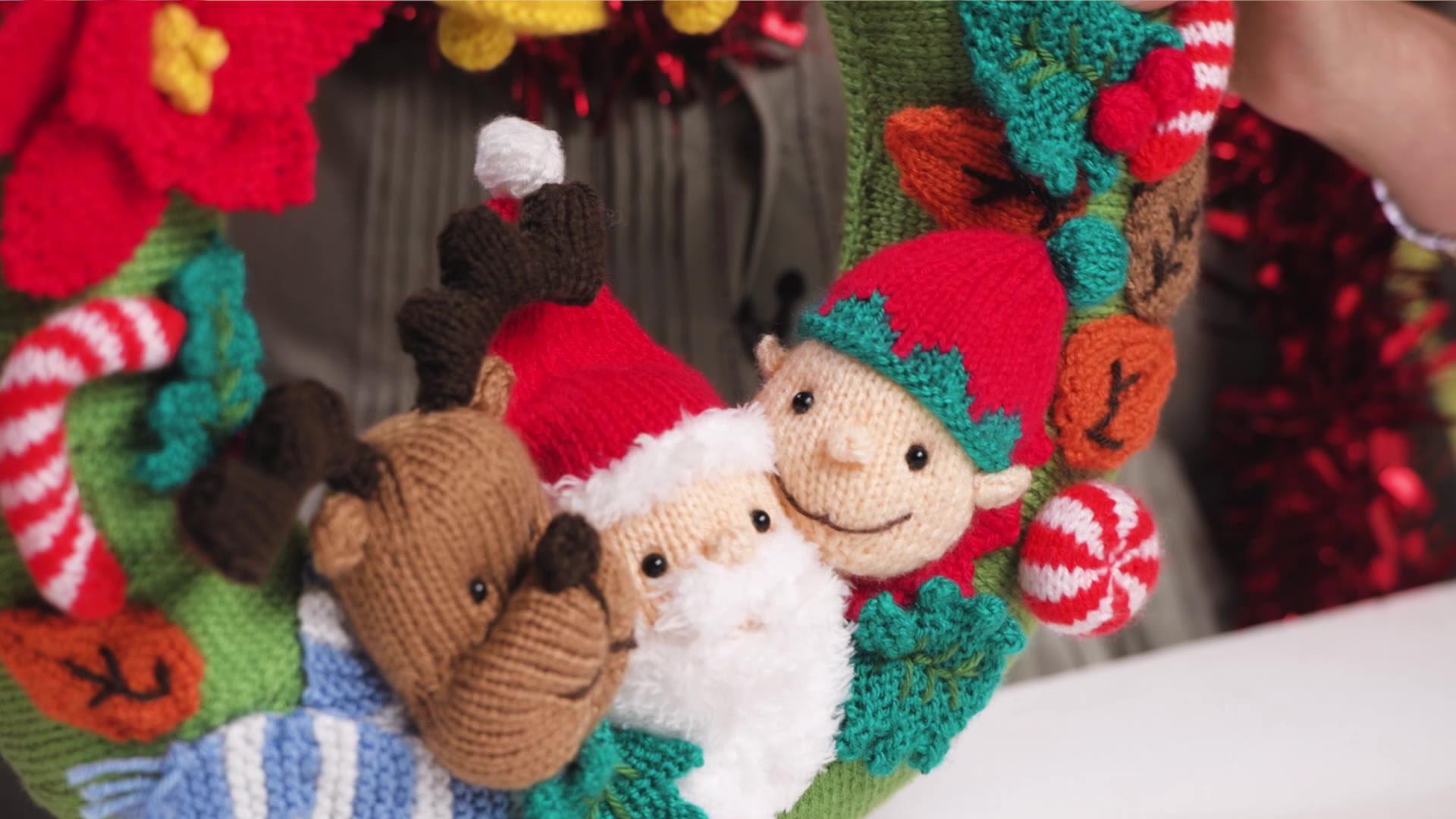Festive Wreath Knitalong: Our Top Tips