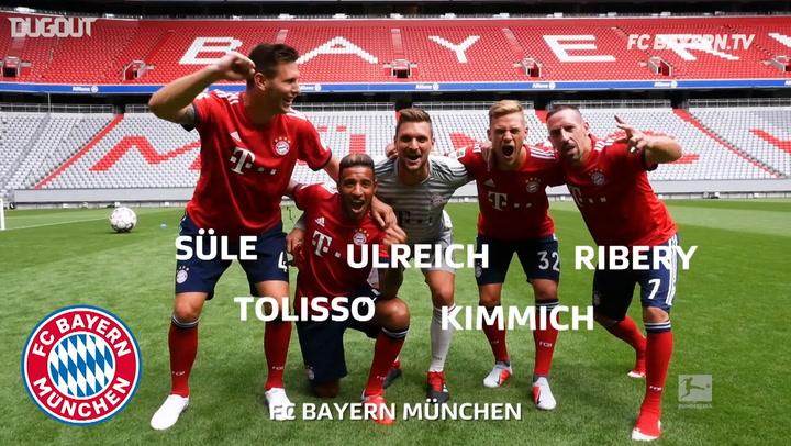 FC Bayern's Crazy Glasses Challenge