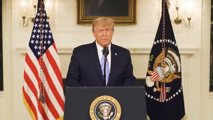 Trump y Biden se pronuncian tras el nuevo 'impeachment'