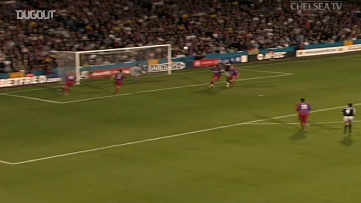 Didier Drogba's first Chelsea goal