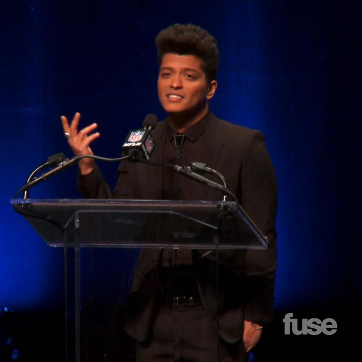 Bruno Mars Pepsi Super Bowl XLVIII Halftime Show Press Conference