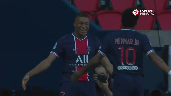 El vertigionoso contraataque del PSG que conectó a Neymar con Mbappé en el 1-0 ante el Celtic